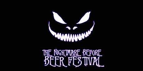 Nightmare Before Beer Festival tickets