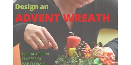 Design an Advent Wreath tickets