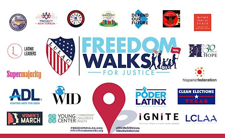 FREEDOM WALKS: SU VOZ, SU VOTO image