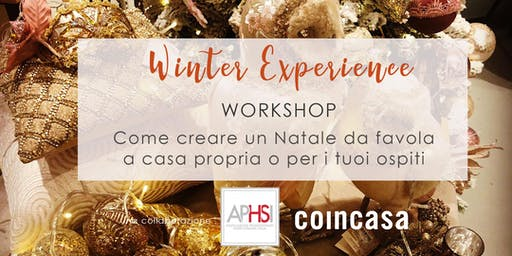WINTER EXPERIENCE Workshop