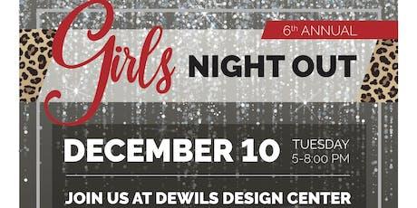 DeWils Design Center 6th Annual Girls Night Out Benefitting Peace Health NICU tickets