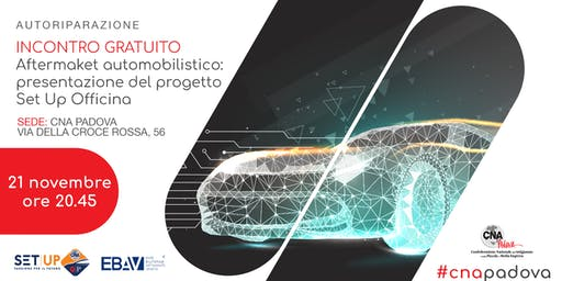 AFTERMARKET AUTOMOTIVE: PRESENTAZIONE DEL PROGETTO SET UP OFFICINA