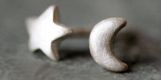 Silver earrings workshop