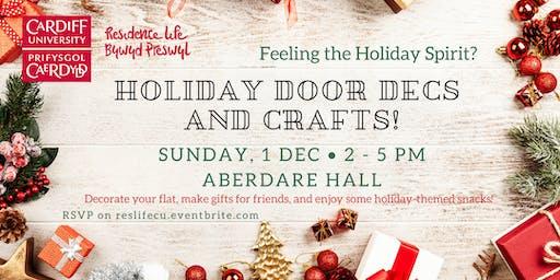 Holiday Door Decs and Crafts!