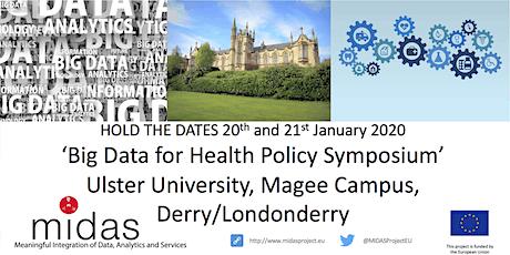 Big Data for Health Policy Symposium - 20-21 Jan 2020 tickets