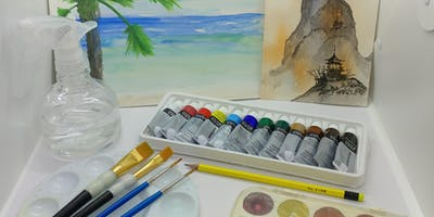 Watercolor For Beginners with Creatively Carrie