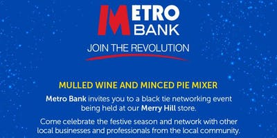 Merry Christmas at Merry Hill Mulled Wine and Mince Pie Mixer