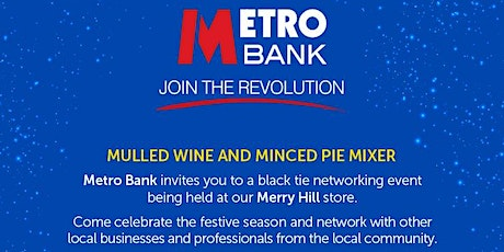 Merry Christmas at Merry Hill Mulled Wine and Mince Pie Mixer tickets