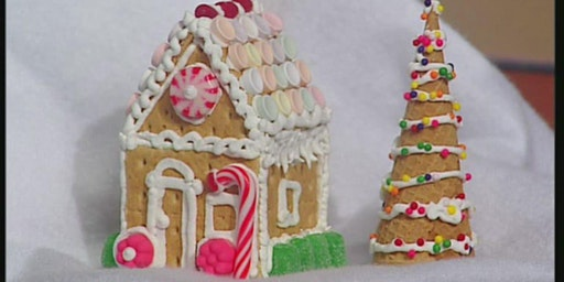 Sutherlin Mansion Gingerbread House Building