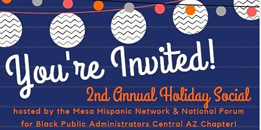 Holiday Social hosted by the MHN & NFBPA