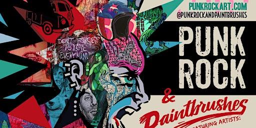 PUNK ROCK &PAINTBRUSHES HOLIDAY ART SHOW