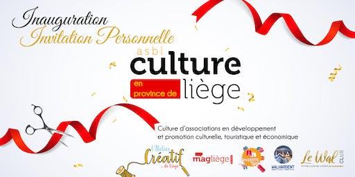 Inauguration nouveaux locaux Culture Liège ASBL