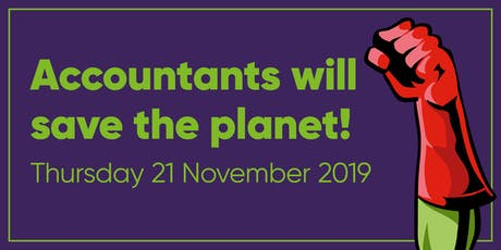 Accountants will save the planet! tickets