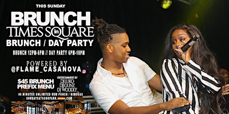 KOMPA SUNDAYS ( BRUNCH/DAY PARTY ) IN TIMES SQUARE  LADIES FREE )  #KOMPA #SOCA #REGGAE #ZAZOO tickets