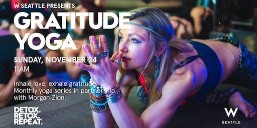 Gratitude Yoga at W Seattle
