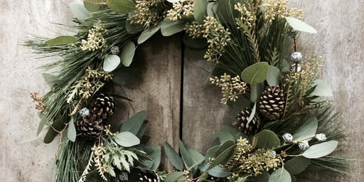 DIY Holiday Wreath Class (For Adults)