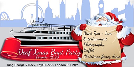 Christmas Soca Party 2020 Deaf Xmas Boat Party 2020 Tickets, Sat 12 Dec 2020 at 19:00