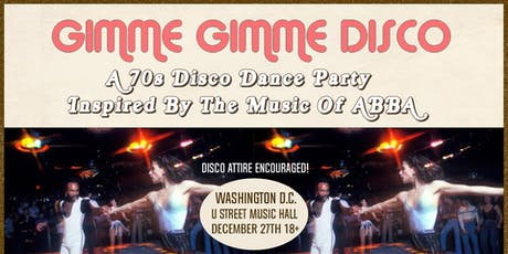 Gimme Gimme Disco tickets