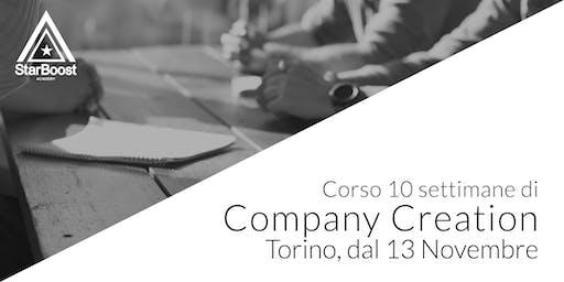 [Torino] Company Creation: trasforma la tua idea in un'azienda di successo