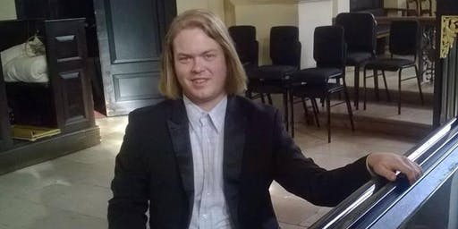 Pianista inglês Daniel Roberts, Gershwin, Chopin, Beethoven