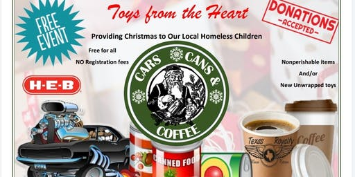 Toys From The Heart- Cars, Cans, & Coffee