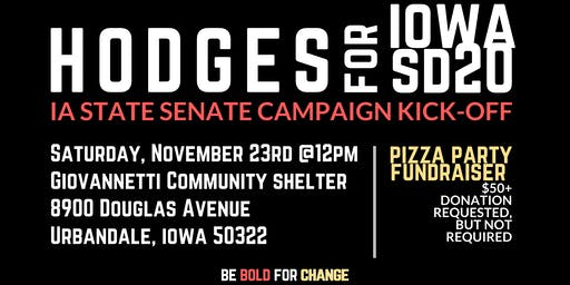 Charlie Hodges for Iowa Senate Fundraising  Kickoff