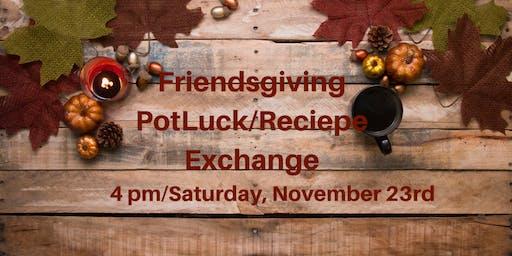 Friendsgiving Potluck Dinner & Recipe Exchange