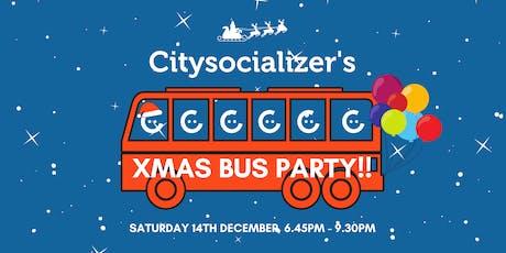 Citysocializer's Xmas Bus Party tickets
