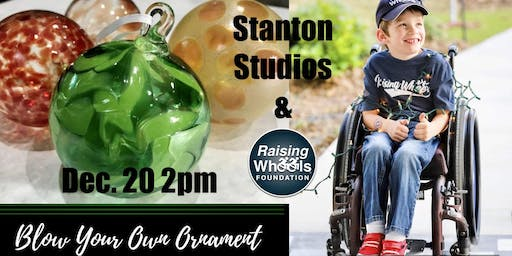 Accessible Glass Blowing Ornament Class & Tour
