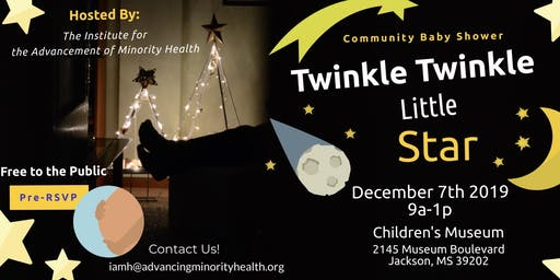 Community Baby Shower: Twinkle Twinkle Little Star