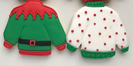 Holiday Sweater Cookie Decorating Class $45.00 tickets