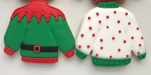 Holiday Sweater Cookie Decorating Class $45.00