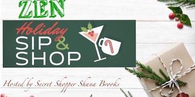 Zen Holiday Sip N Shop