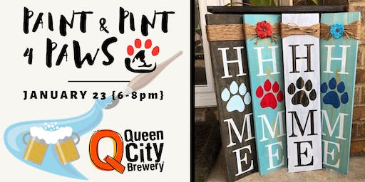 Paint & Pint 4 Paws