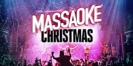 Massaoke Christmas tickets