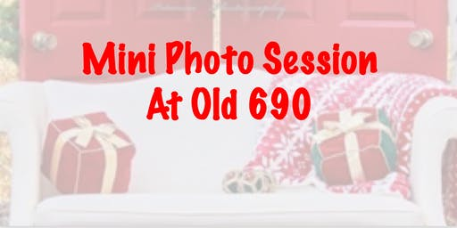 Mini Christmas Photo Session at Old 690 Brewing Company