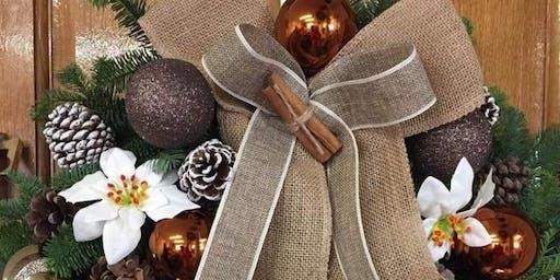 Luxury Christmas Wreath Workshop