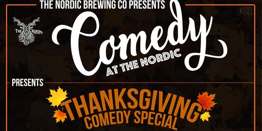 THANKSGIVING COMEDY SPECIAL