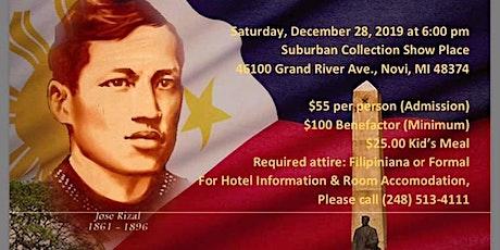 FILAMCCO Rizal Day Annual Gala tickets
