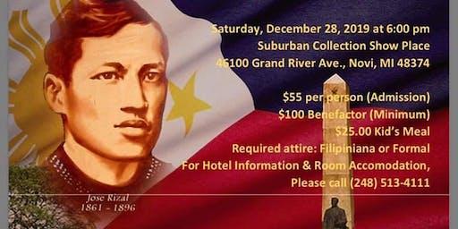 FILAMCCO Rizal Day Annual Gala