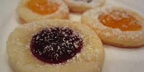 Holiday Cookies - Fruit Filled Czech Kolacky 12.16.19 tickets