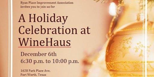 A Holiday Celebration at WineHaus