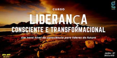 Curso Liderança Consciente & Transformacional ingressos
