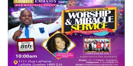 Worship & Miracle Service with Pastor Matthew tickets