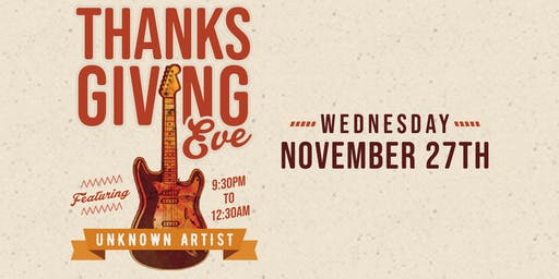 Thanksgiving Eve Party at Jack's Corner Tap ***NO TICKET REQUIRED***
