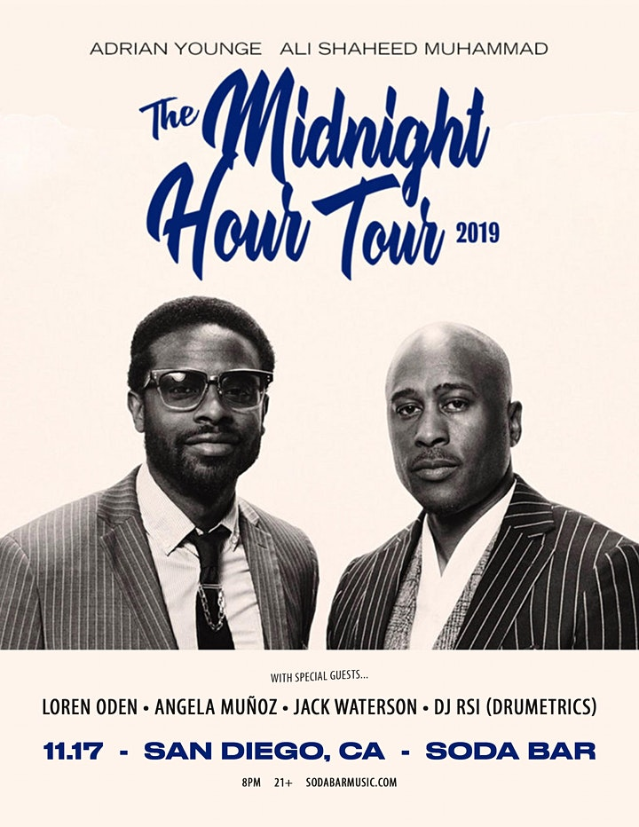 THE MIDNIGHT HOUR (Ali Shaheed Muhammad + Adrian Younge) + guests image