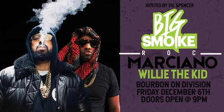 Roc Marciano & Willie The Kid at Bourbon On Division tickets