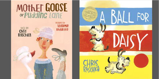 Storytime with Author-Illustrator Chris Raschka