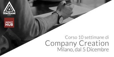 [Milano] Company Creation: trasforma la tua idea in un'azienda di successo