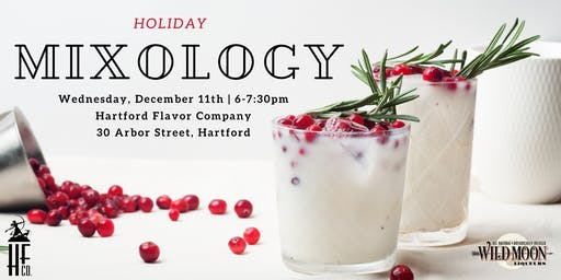 Holiday Mixology Class